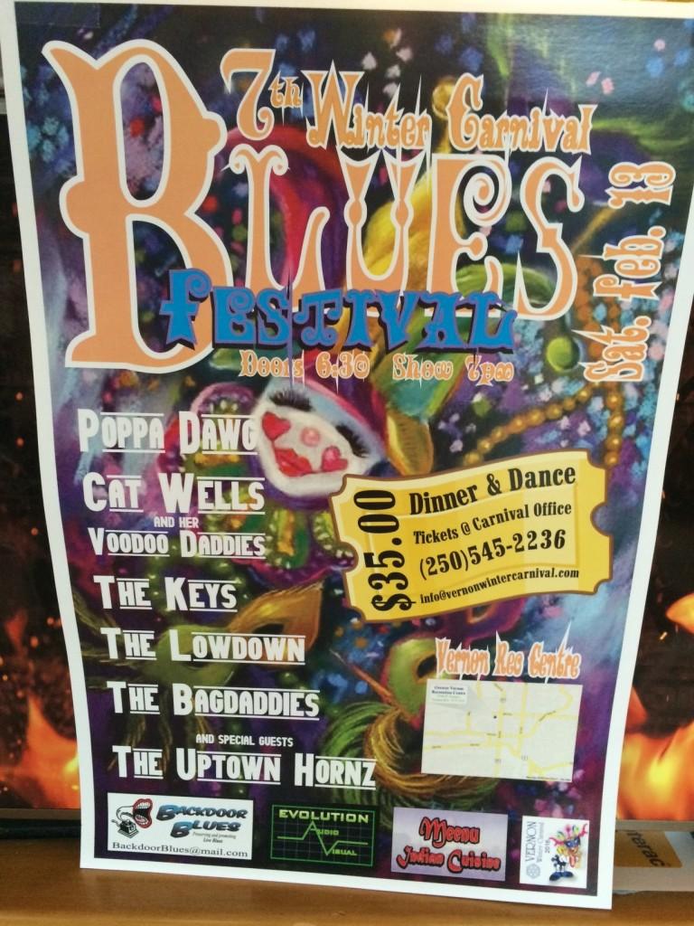 Blues Festival 2016 Poster
